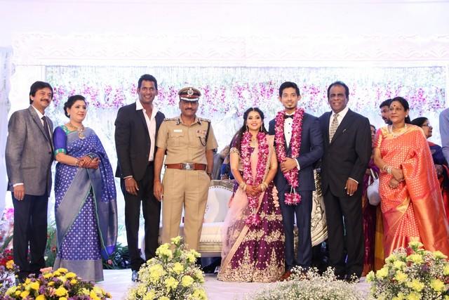 Vishal sister marriage00019