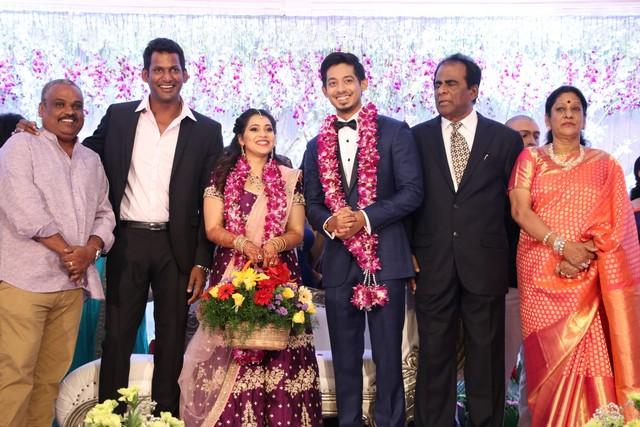 Vishal sister marriage00022