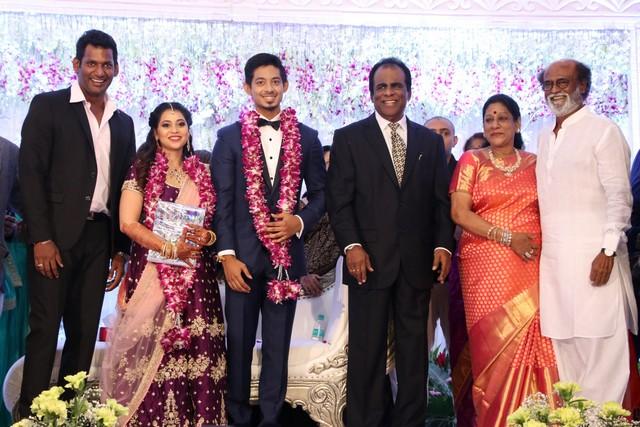Vishal sister marriage00024