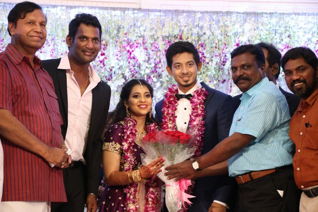 Vishal sister marriage200023