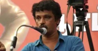 """Sivaji Is A Great Politician""-Cheran Bold Speech."