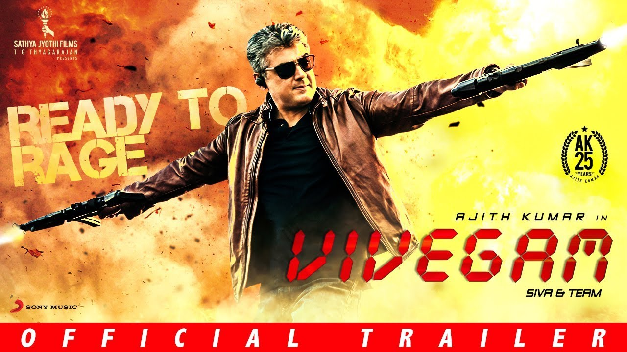 Vivegam Official Tamil Trailer
